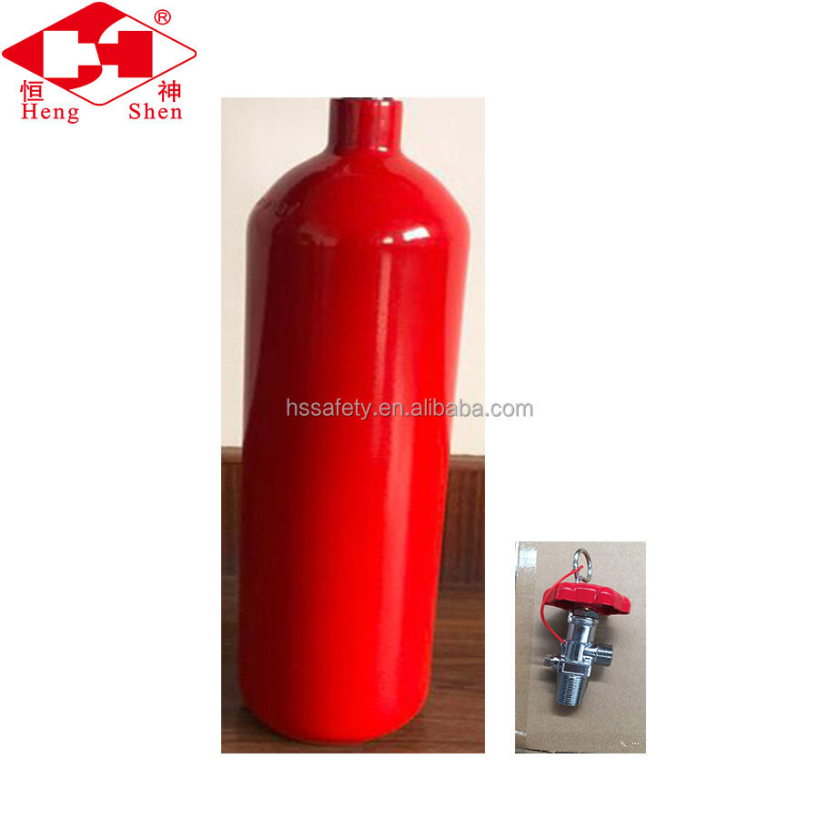 Red Color Fire Extinguisher Spare Parts Portable Safety Equipment
