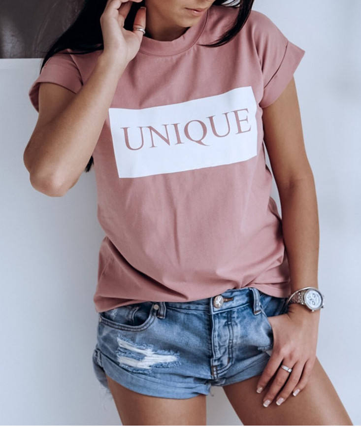 Mode vrouwen Basic Tee Shirt Zomer Casual Tops Korte Mouwen Vogue T-shirt Blouse