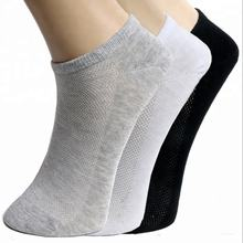 drop shipping Casual Cotton Men's Hosiery Solid Colour Breathable Cotton Low Cut Short Ankle Socks Sport Sock Fashion