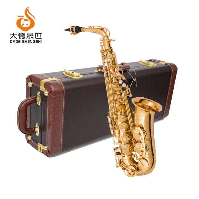 Accept OEM Dasheng Music DSAS-711 Chinese Cheap Wind Instrument Alto Saxophone