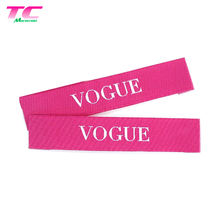 Custom Colorful Etiquette Textile Woven Label Manufactory, Personalized Brand End Folded Clothes Main Labels
