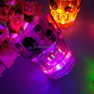 Light up Beer Mug wedding favors đảng phổ biến nhất flashing led glow in the Dark ly