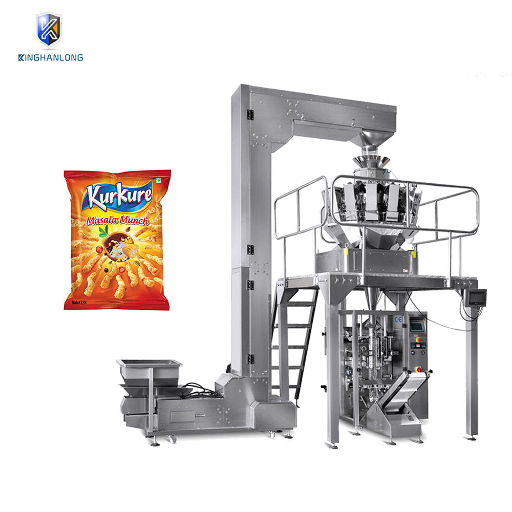 Factory sale automatic small snack namkeen pouch packing machine