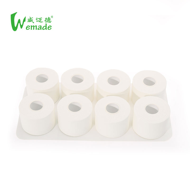 3.8cm*10m Cotton Sports Tape Roll Wrist Knee Protect Volleyball Basketball Adhesive tape