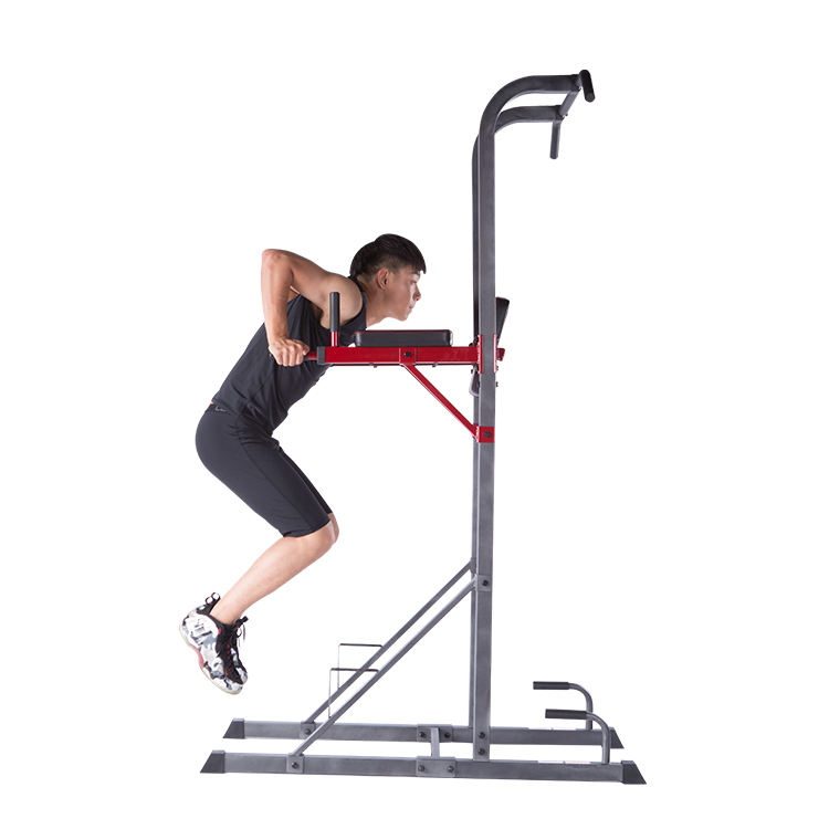 Multi station voor home office gym pull up fitness power tower