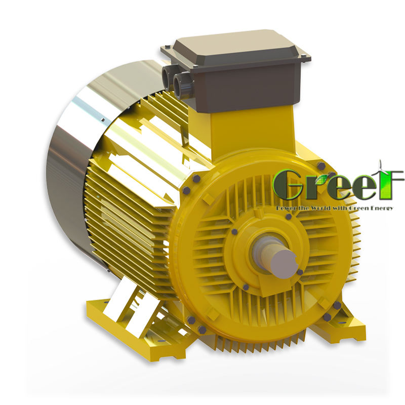 10KW 30RPM Easy Maintenance , Low rpm , Manufacturers Custom-made Permanent Magnet Generator