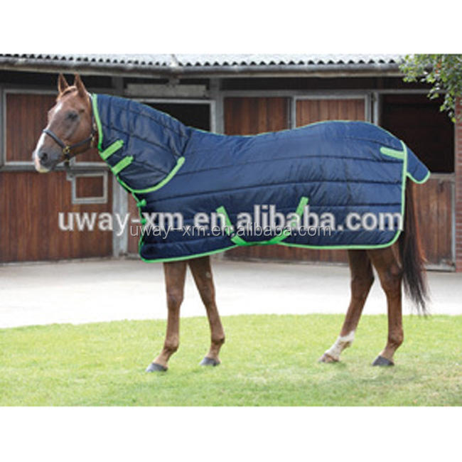 Stable padded combo horse rug for winter