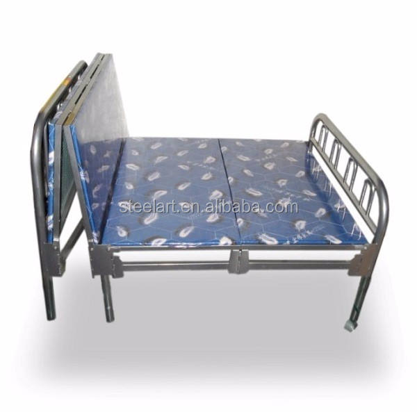 Metal bedroom furniture used single adult bed for sale
