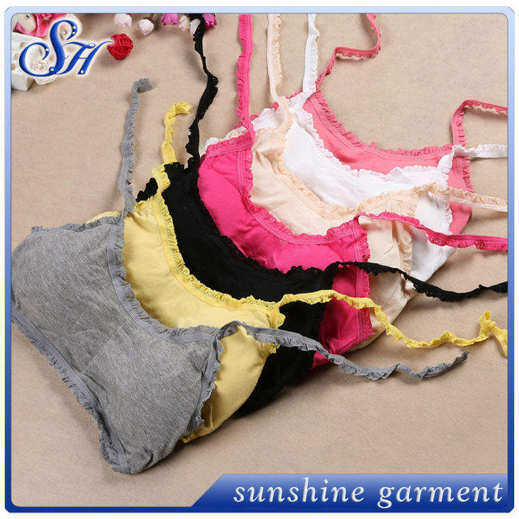 2017 girls underwear bra new design