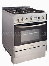 cooking appliances with CE hot selling 4 burners free standing gas cooker Oven