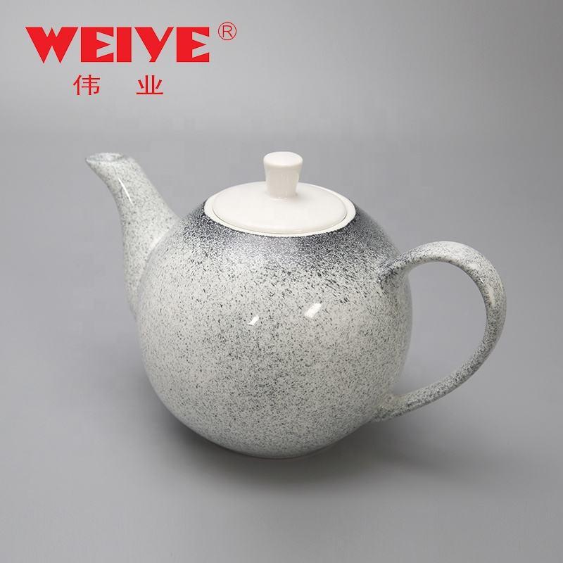 1160 мл Гладкий обычный цвет teaware фарфоровый чайник с крышкой