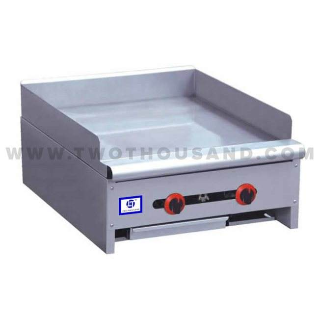 TT-WE1381B 3 Burners Gas Pancake Dosa Griddle with Grease Drawer