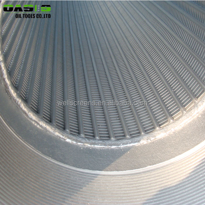 Johnson type screen / sand control wedge wire screen / stainless steel mesh filters