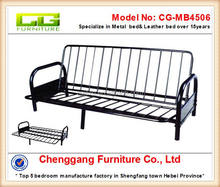 Modern folding sofa metal bed frame for bedroom