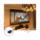 XYSCREEN new design China factory black diamond screen electric projection screen