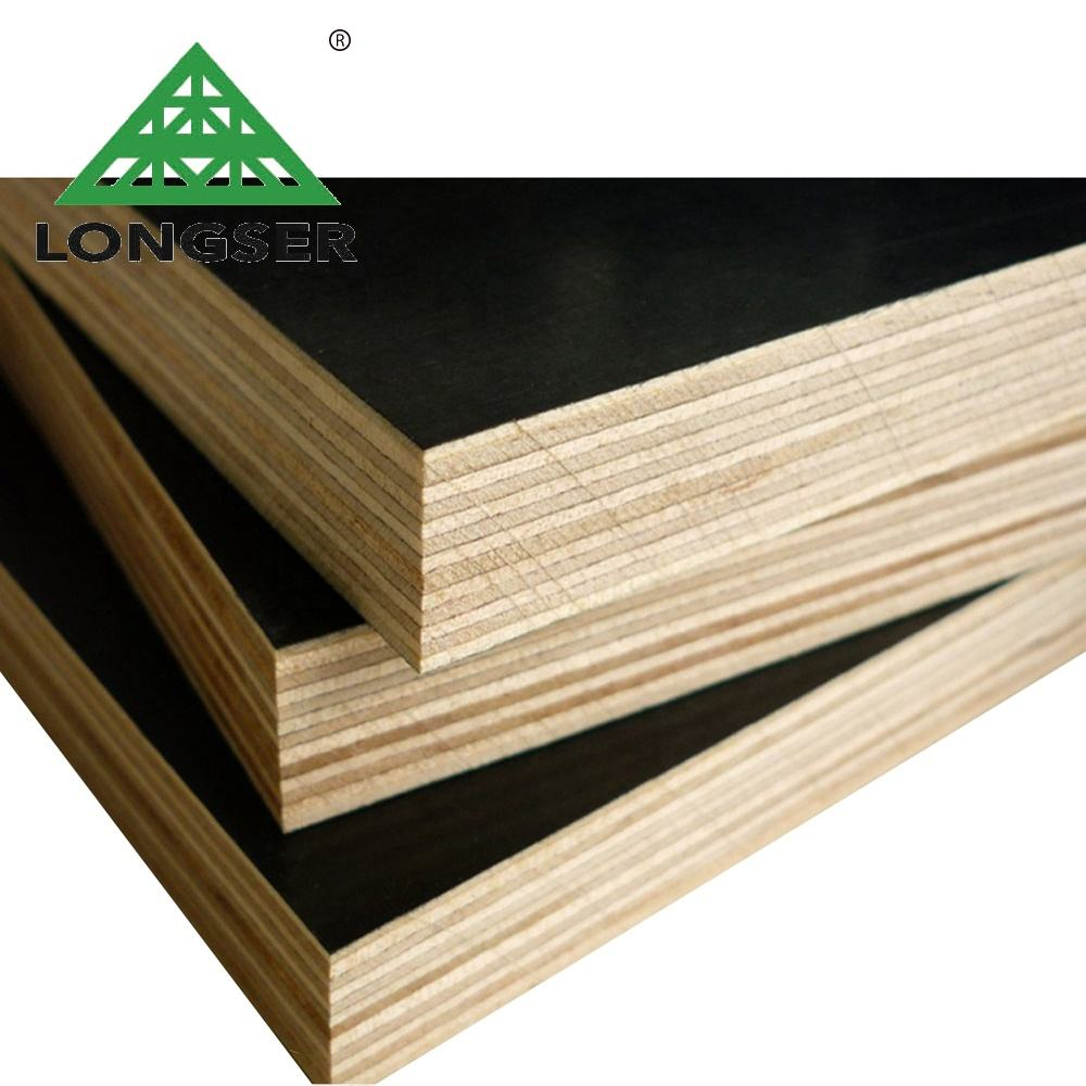 4x8 15mm film faced construction plywood used concrete forms sale