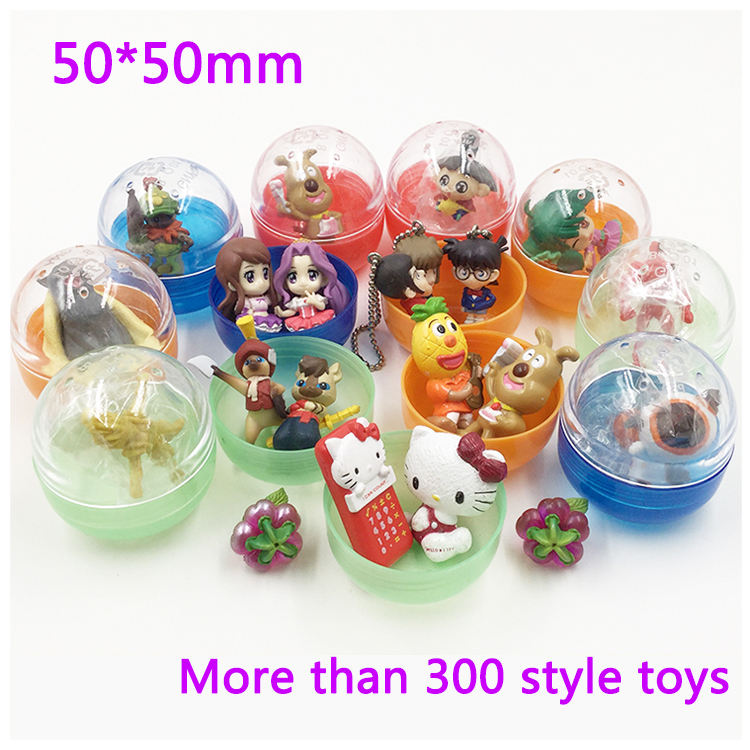 Japan gashapon capsule toys with 2 inch capsules