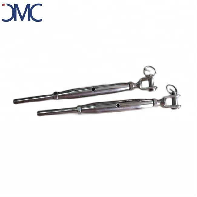 Construction stainless steel closed body turnbuckle
