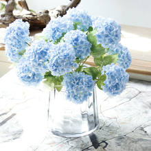 Wholesale real touch artificial hydrangea for home decoration