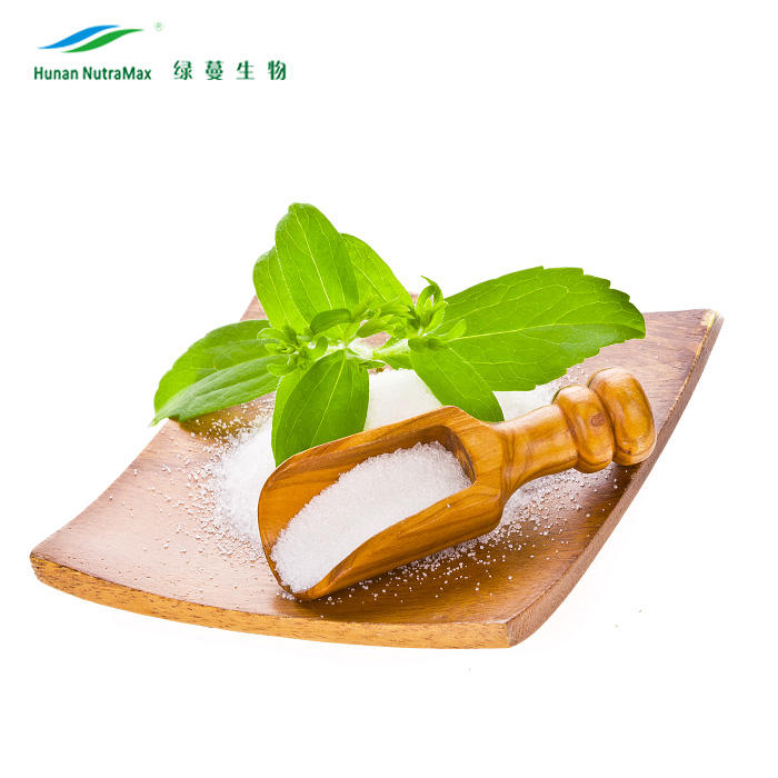 100% Bulk Pure Organic Stevia Leaves Extract Steviol Glycosides Rebaudioside A 97% Powder