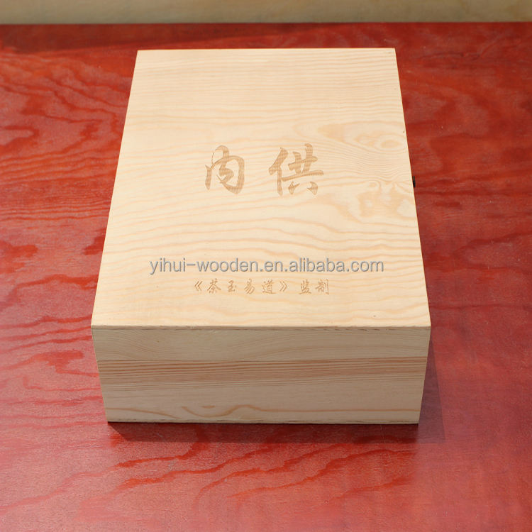 Unfinished Cheap Pine Wooden Boxes For Sale