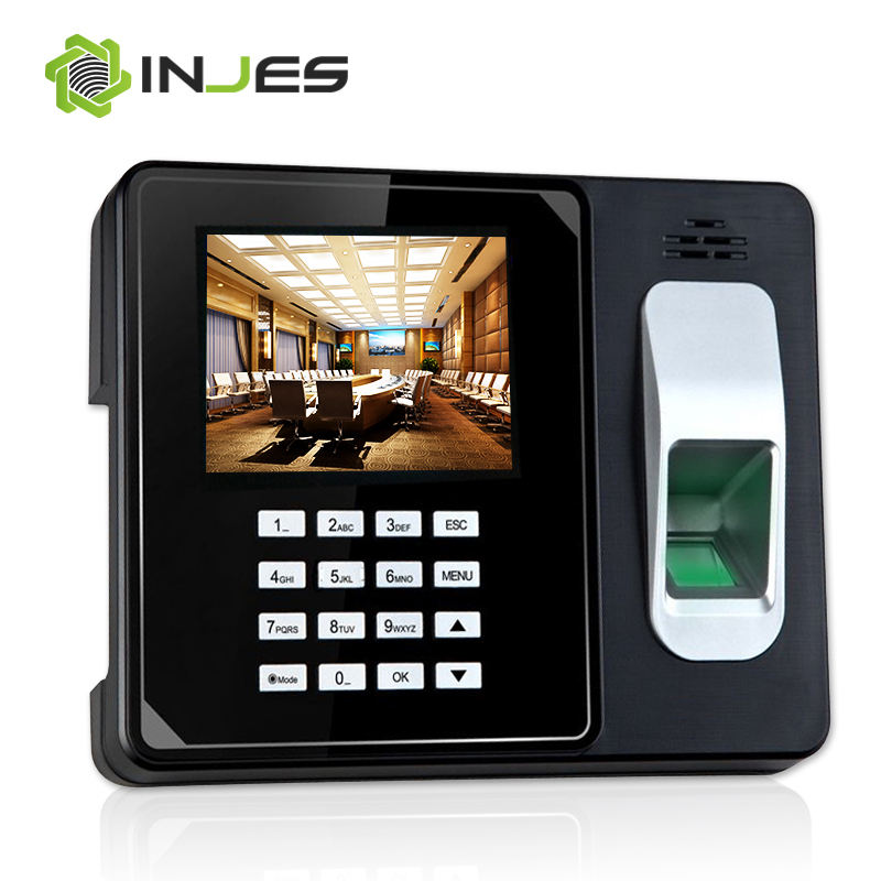 Electronic Bio Office Fingerprint Time Attendance Clock System Made In China