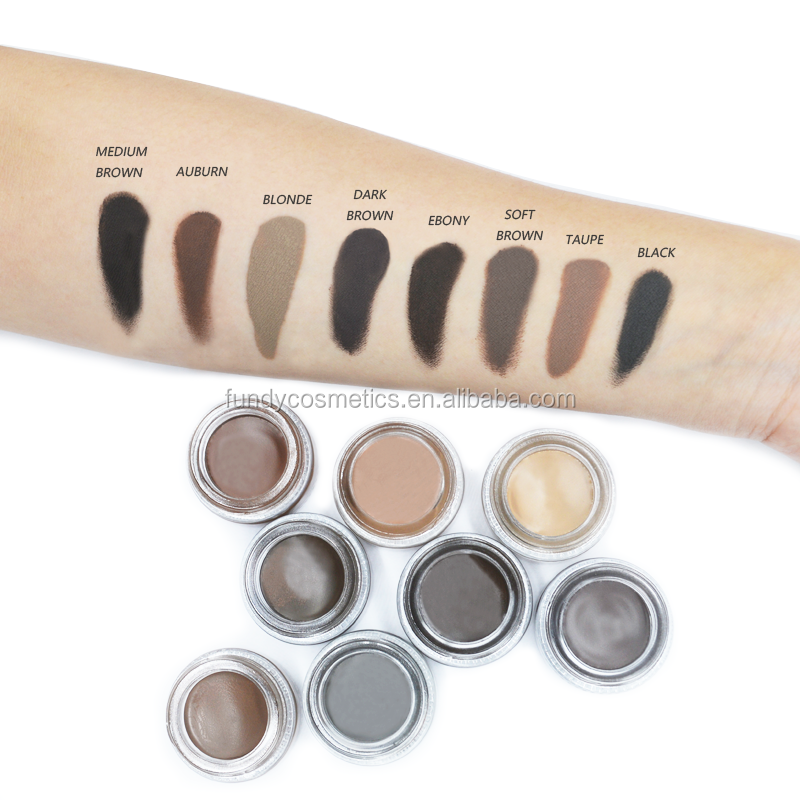 Private label makeup eyebrow best selling products eyebrow gel waterproof brow 8 colors
