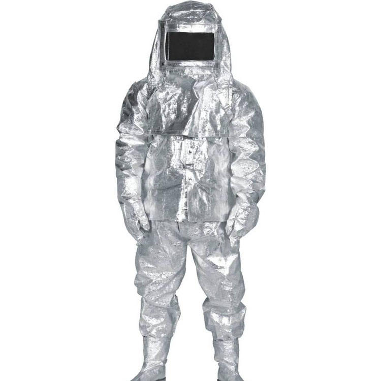 Fire Fighting Suit Fire Fighting Aluminum Heat Protective Suit