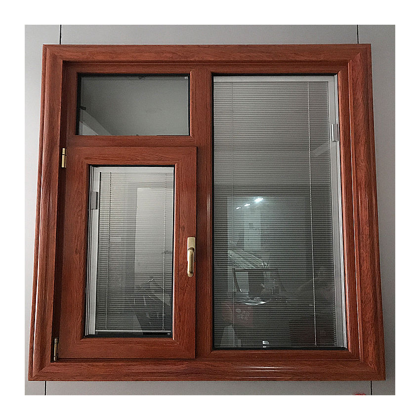 Office design aluminium frame casement window company casement glass window