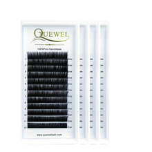 Wholesale Quewel Best Individual Eyelashes, High Quality Semi Permanent Eyelash Extension, Individual Mink Lash Extensions