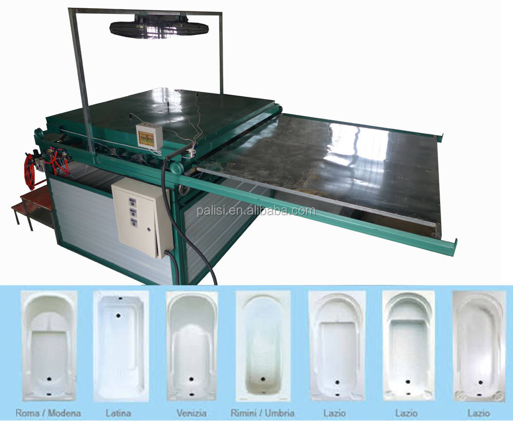 PMMA acrylic ABS bathtub and shower tray vacuum former