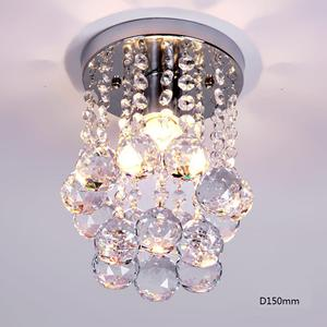3W LED Crystal Ceiling Light Small Chandelier Ceiling Lamp Pendant Light For Hallway
