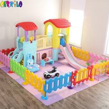 Combination kids play amusement area Day Care Center play equipment for baby