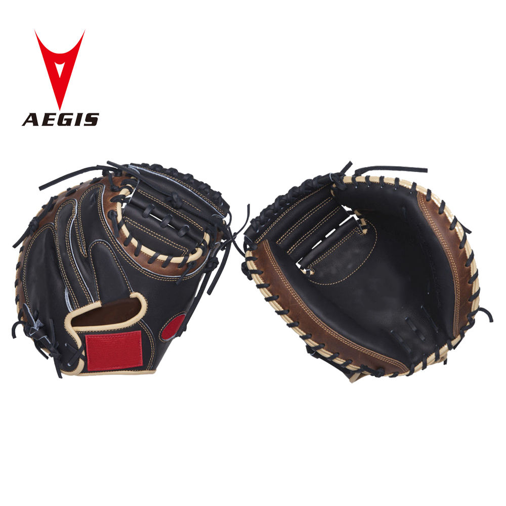 Professional baseball gloves 33in catcher mitts cowhide leather