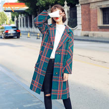 Maxnegio korean women's coat longline coat