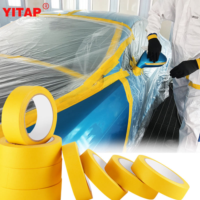 Best Rubber Adhesive 3M Automotive Paper Masking Tape