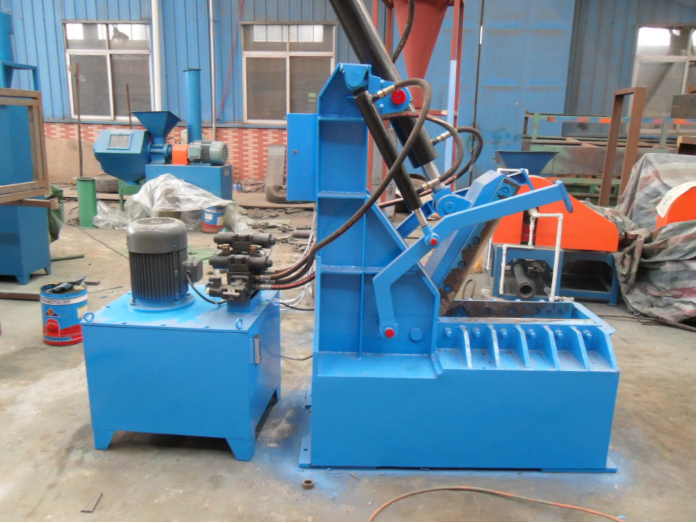 Scrap tyre recycling machine manufacturer / steel wire drawing machine for sale