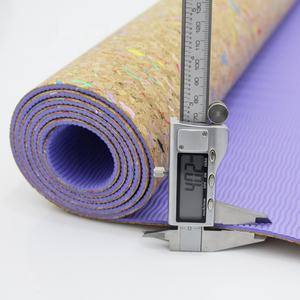 Wholesale Eco Friendly Private Label Fitness Cork Yoga Mat