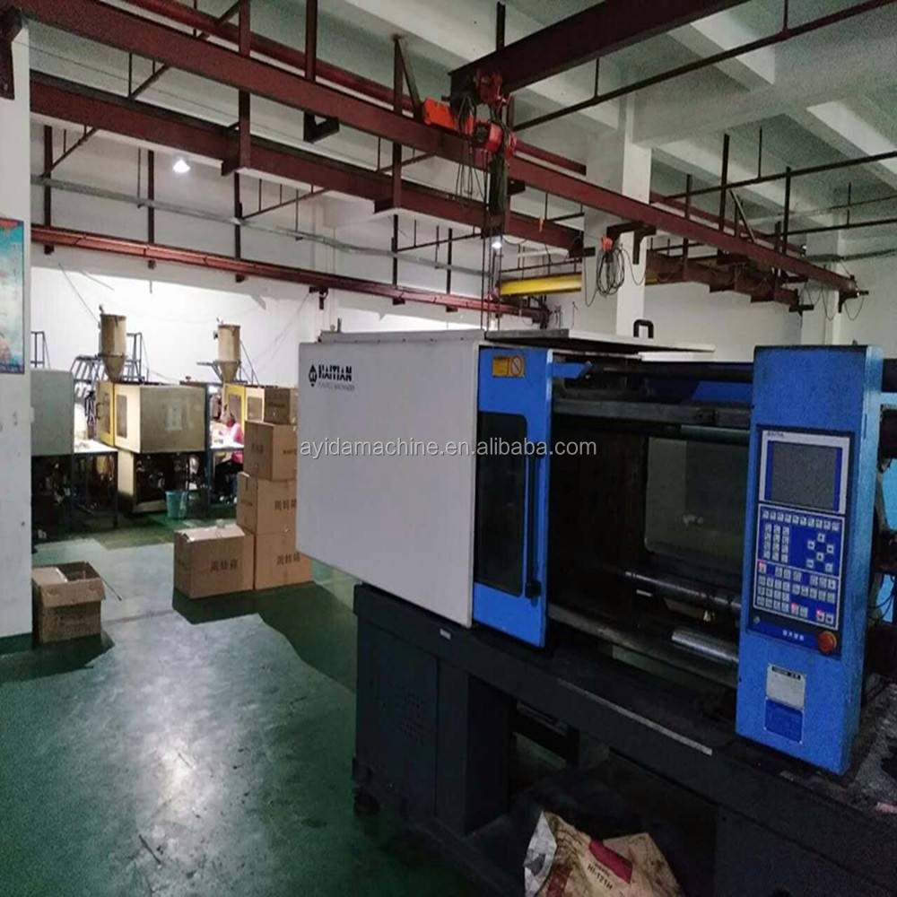 hydraulic plastic making haitian second hand injection molding machine 200tons