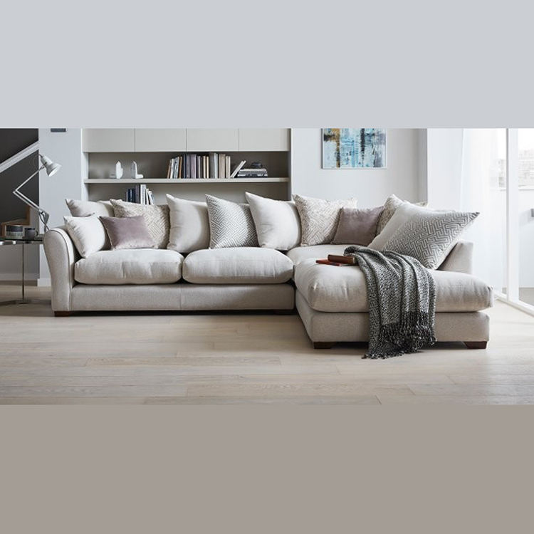 Latest Modern Designs Alibaba L Shaped Fabric Living Room Furniture Sofa Set