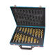 170PCS Metric Titanium HSS Drill Bit Set for Metal Steel in Metal Box