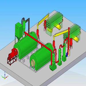 popular sale 20 ton plastic pyrolysis plant