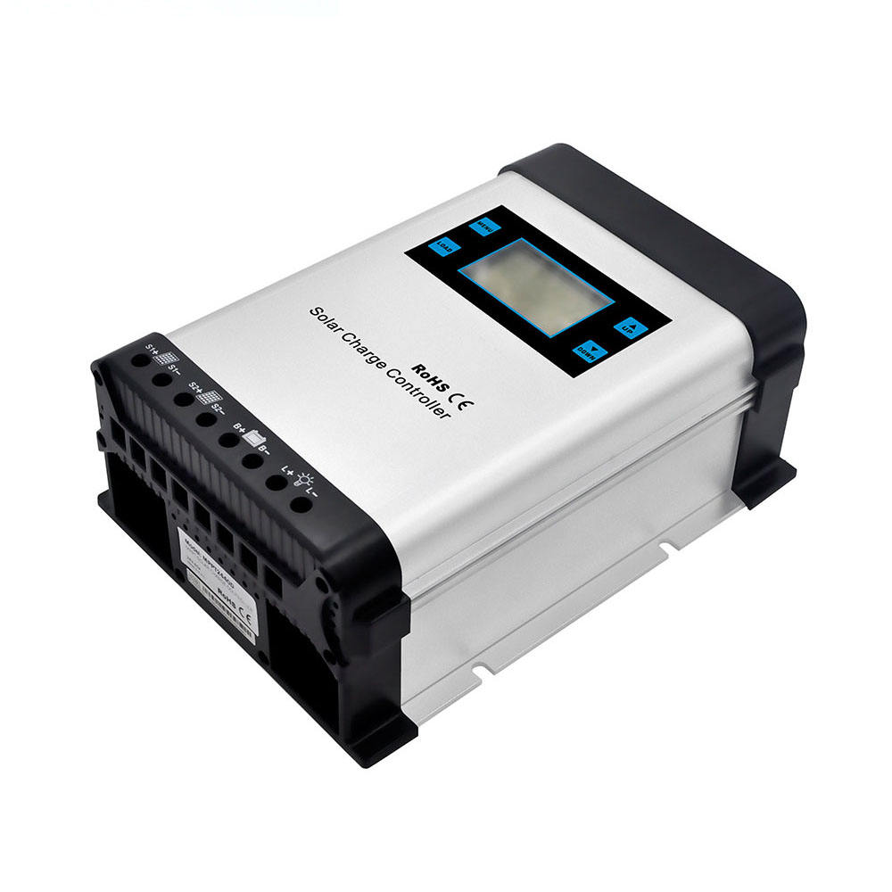 mppt solar charge controller 12v 24v 40amp with lcd/led display