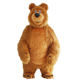 New Arrival 2.6M Inflatable Bear Costume For Advertising Customize Bear Inflatable Mascot Halloween Costume For Adult