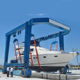 High quality 60 ton boat yacht lifting gantry crane