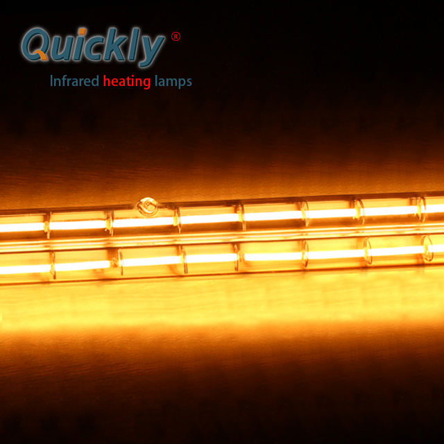 quartz tubular infrared heater lamps