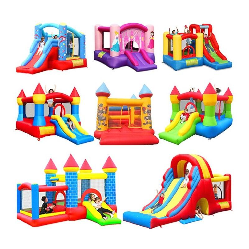 HOT sale Princess inflatable bouncer castle/inflatable jumping castle combo games