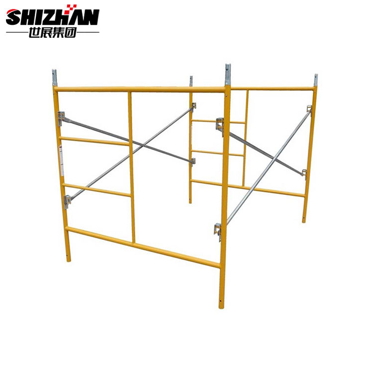 layer/ringlock scaffolding standard/vertical