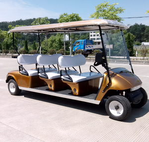 6 seater electric /gasoline Golf cart sightseeing cars/bus