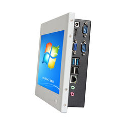 10.1 Inch IPS screen Bay Trail J1900 Quad Core Industrial Fanless Touch Screen Computer All In One PC